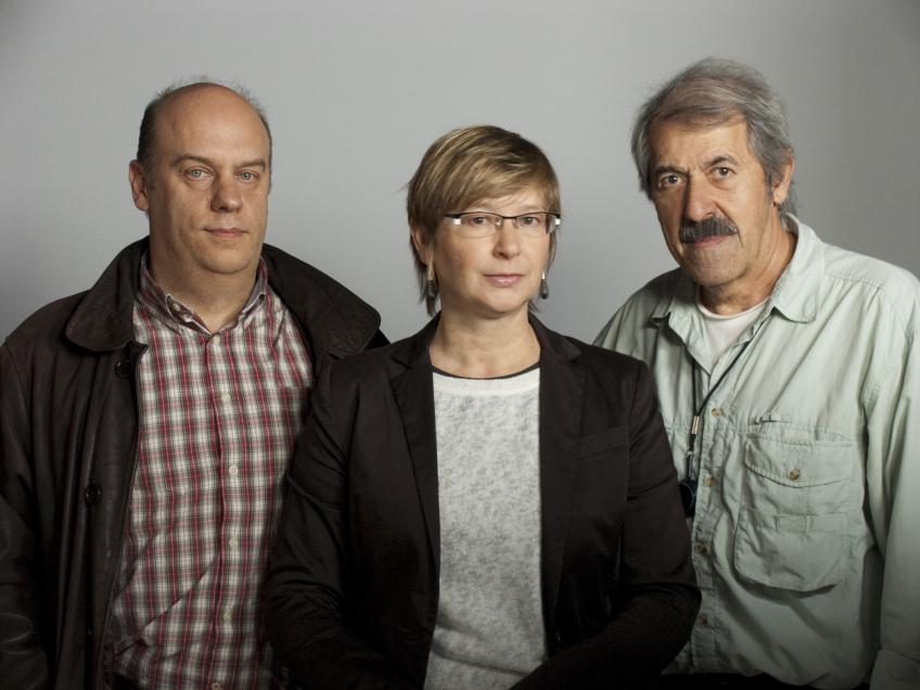 Alfonso Ruiz, Ana Sánchez-Gijón y Juan Antonio Castaño