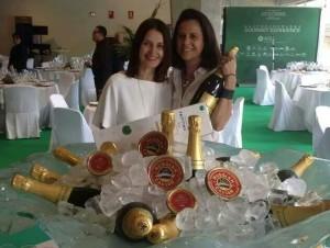 Isabel Díaz y Elena Vega
