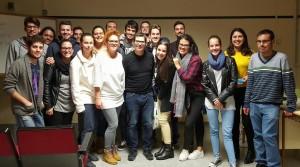 Visita del productor Juan Cano (Nono) al CIFP César Manrique