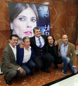 Toni Tabares, David Cánovas, José Amaro Carrillo, Antonio Hernández y Alberto García.